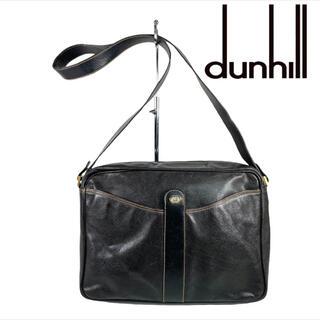 ダンヒル(Dunhill)のdunhill  レザー ショルダーバッグ ビジネス A4収納可(ショルダーバッグ)