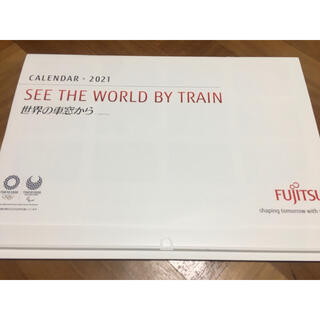 フジツウ(富士通)の世界の車窓から FUJITSU 富士通 壁掛け カレンダー 2021年(カレンダー/スケジュール)