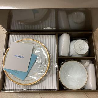 ノリタケ(Noritake)のノリタケ ハンプシャー ゴールド プラチナ カップ ソーサー(食器)
