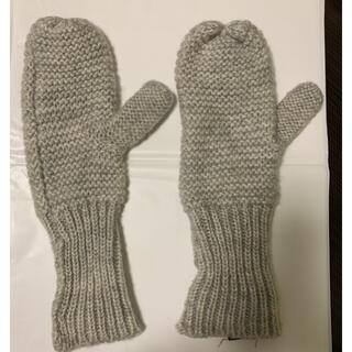 ザラ(ZARA)のZARA ニット手袋 グレー(手袋)