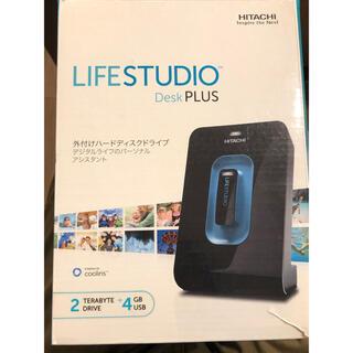 ヒタチ(日立)の日立 Life Studio plus HDD 2TB  + USB 4GB(PC周辺機器)