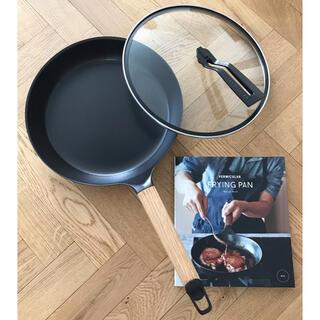 バーミキュラ(Vermicular)のバーミキュラ フライパン 26cm オーク フタ付き (鍋/フライパン)