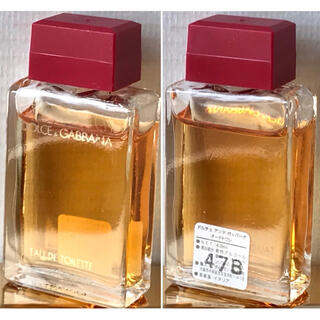 ドルチェアンドガッバーナ(DOLCE&GABBANA)のDOLCE&GABBANA ドルチェ&ガッバーナ ドルガバ ミニボトル 香水瓶(香水(女性用))