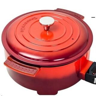 ヤマゼン(山善)の山善 エレクトリックグリルパン グリル鍋(鍋/フライパン)