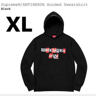 シュプリーム(Supreme)のsupreme antihero sweatshirt XL(パーカー)