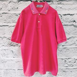 ミキハウス(mikihouse)のミキハウス ポロシャツ 半袖 レディース 薄手 レッド無地 シンプル 夏(ポロシャツ)