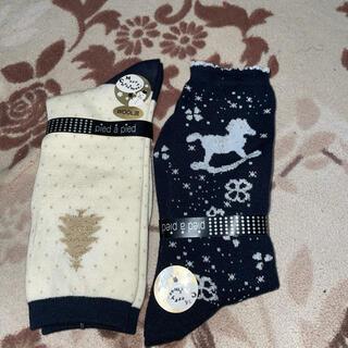 チュチュアンナ(tutuanna)のチュチュアンナ クリスマス 靴下 レディース(ソックス)
