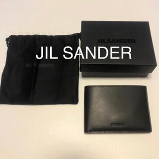 ジルサンダー(Jil Sander)の【クリスマス限定価格】JIL SANDER lether zip  wallet(折り財布)