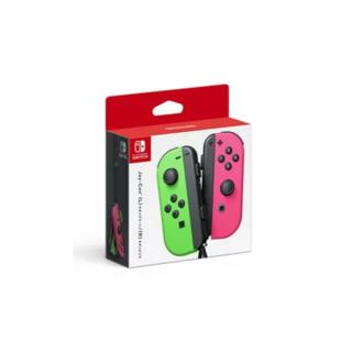 ニンテンドースイッチ(Nintendo Switch)の【Switch】Joy-Con(L) ネオングリーン/(R) ネオンピンク任天堂(携帯用ゲームソフト)