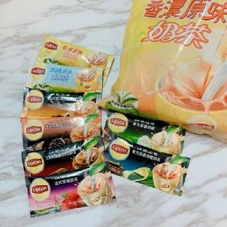 ユニリーバ(Unilever)の【甘さ控えめ】台湾限定 リプトン ミルクティー 3袋セット 組み合わせ自由🎉(茶)