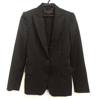 ステラマッカートニー(Stella McCartney)のStella McCartney ウール テーラードジャケット 34 ブラック(テーラードジャケット)