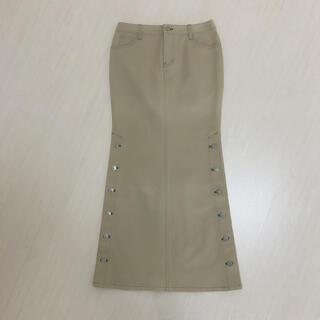 エルビーゼロスリー(LB-03)のLB03薄グリーンデニムロングスカートアナップトミーラルフポロマウジーゴア(ロングスカート)