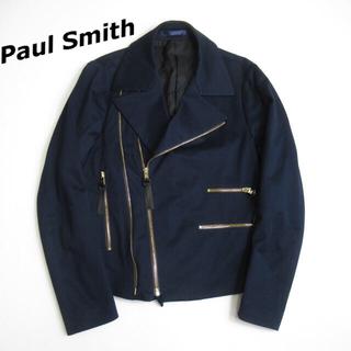 ポールスミス(Paul Smith)の【専用】Paul Smith コットン ライダースジャケット ポールスミス (ライダースジャケット)