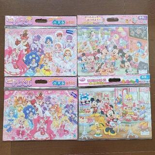 【yoda様専用】ミッキー、キティちゃんパズル3枚セット(知育玩具)