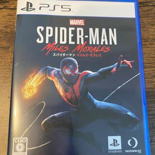 マーベル(MARVEL)のPS5 スパイダーマン マイルズモラレス 特典未使用(家庭用ゲームソフト)