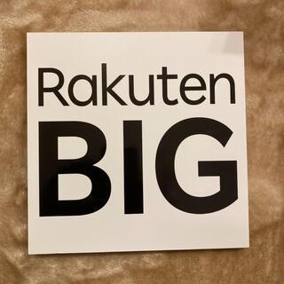 ラクテン(Rakuten)のRakuten BIG クリムゾンレッド (eSIM専用端末) 新品(スマートフォン本体)