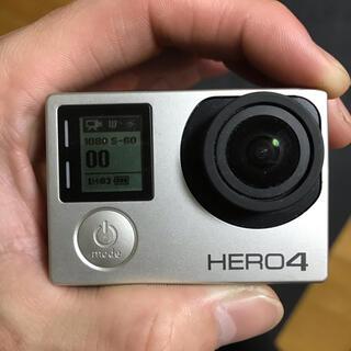 ゴープロ(GoPro)のgopro hero4 silver edition ゴープロ アクションカメラ(コンパクトデジタルカメラ)