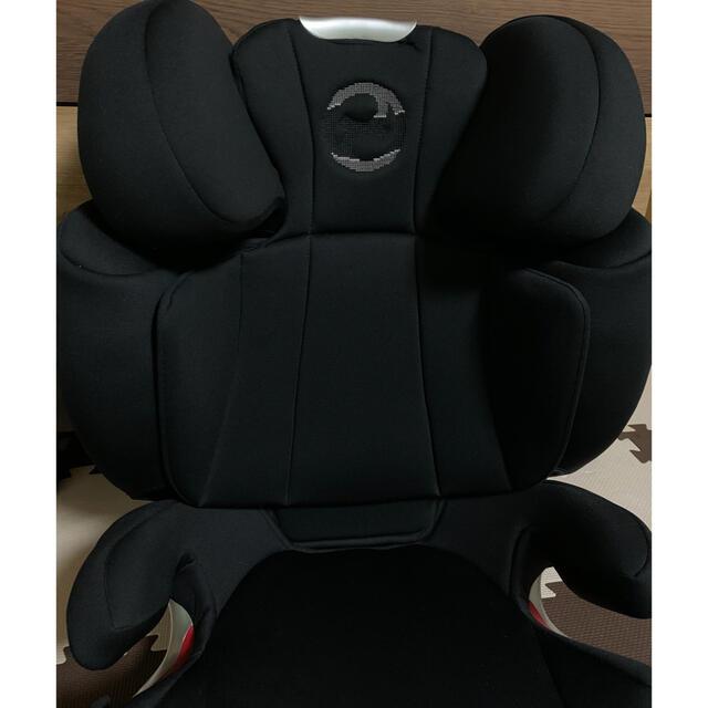 cybex(サイベックス)の極美品 Cybex サイベックス SOLUTION Q3 FIX ソリューション キッズ/ベビー/マタニティの外出/移動用品(自動車用チャイルドシート本体)の商品写真