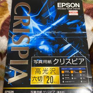 エプソン(EPSON)の高光沢用紙六切16枚入り(その他)