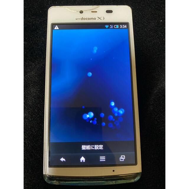 AQUOS(アクオス)のAQUOS SH-04E スマートフォン スマホ/家電/カメラのスマートフォン/携帯電話(スマートフォン本体)の商品写真