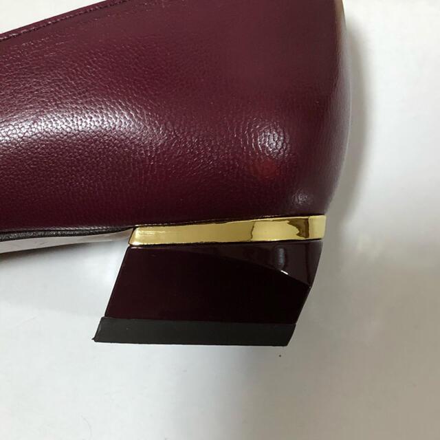 cavacava(サヴァサヴァ)のapres cavacava サヴァサヴァ デザインパンプス 新品未使用23.5 レディースの靴/シューズ(ハイヒール/パンプス)の商品写真