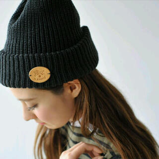 イルビゾンテ(IL BISONTE)のイルビゾンテ ニット帽 IL BISONTE(ニット帽/ビーニー)