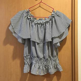 ミスティウーマン(mysty woman)の新品✨mystywomanオフショル(Tシャツ(半袖/袖なし))