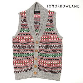 トゥモローランド(TOMORROWLAND)のTOMORROWLAND / ニットベスト S(ベスト)