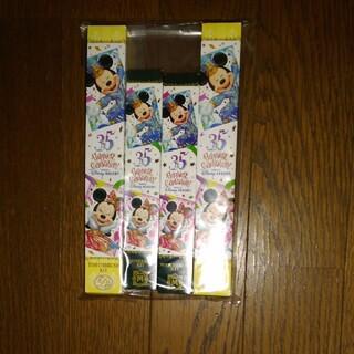 ディズニー(Disney)のディズニーランド歯ブラシセット4点新品(歯ブラシ/歯みがき用品)