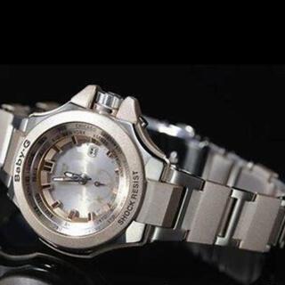 ベビージー(Baby-G)の【新品未使用】Baby-G ステンレス ホワイト 限定発売品 G-SHOCK (腕時計)