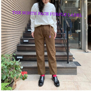 THE NORTH FACE - 美品☆WSパープルレーベルPolyester Serge Field Pants