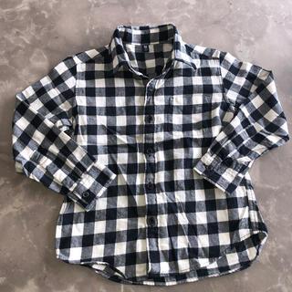 ユニクロ(UNIQLO)のUNIQLO チェックシャツ 120(ブラウス)