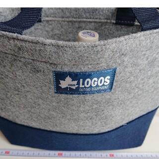 ロゴス(LOGOS)のLOGOS フェルトバック トートバッグ 軽い(弁当用品)