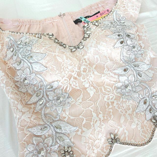 an(アン)のROBE de FLEURS セパレートドレス レディースのフォーマル/ドレス(ミニドレス)の商品写真