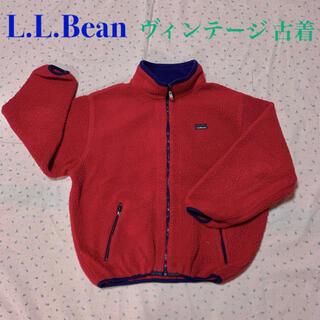 エルエルビーン(L.L.Bean)のヴィンテージ  80年代 LLBean ボア キッズサイズ レディース向け (ブルゾン)