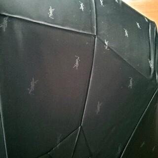 サンローラン(Saint Laurent)のイヴサンローラン ワンタッチ 折り畳み傘 新品(傘)
