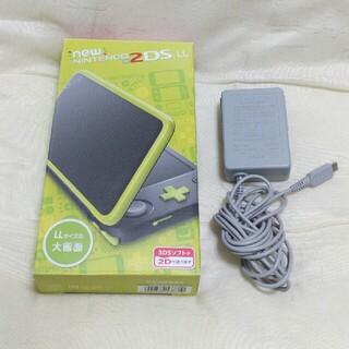 ニンテンドー2DS - new2dsll 本体 ブラックライム 《3DS本体 2DS本体》