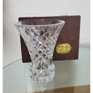 ボヘミア クリスタル(BOHEMIA Cristal)の週末セール❗ボヘミア クリスタルガラス 花瓶(花瓶)