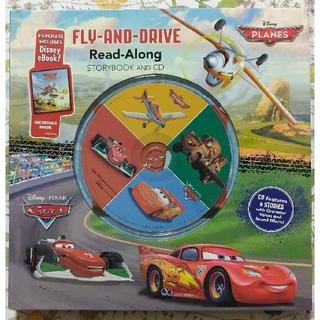 ディズニー(Disney)のディズニー Cars カーズ プレーンズ 英語 絵本 CD Read Along(洋書)