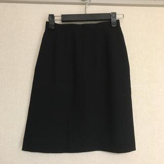Yukiko Hanai - 黒  スカート スーツ 事務服