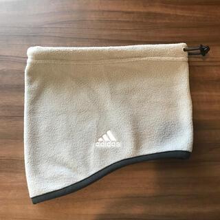 アディダス(adidas)のネックウォーマー/ジュニアサイズ(マフラー/ストール)