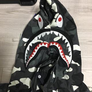 アベイシングエイプ(A BATHING APE)の[専用]APE SHARK SNOWBOARD JAKET(マウンテンパーカー)