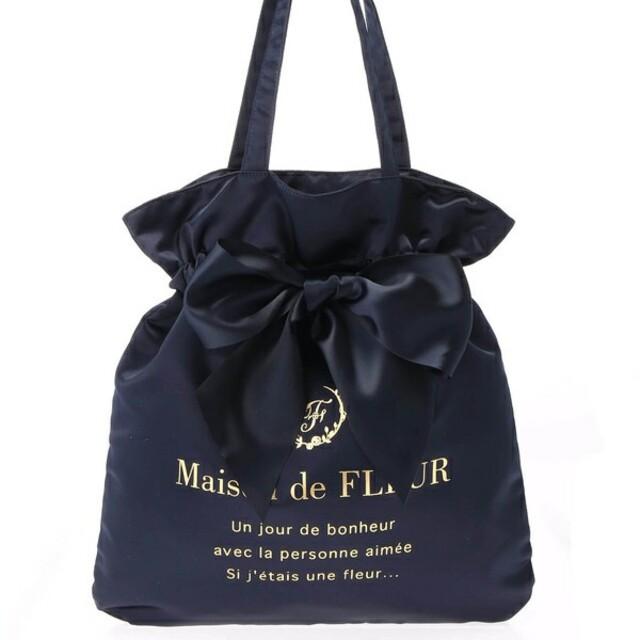 Maison de FLEUR(メゾンドフルール)のメゾンドフルール リボントート レディースのバッグ(トートバッグ)の商品写真