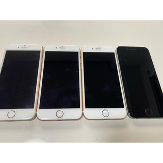 アップル(Apple)のiPhone6s iPhone6 4台(スマートフォン本体)