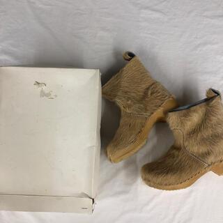 ジャーナルスタンダード(JOURNAL STANDARD)のジャーナルスタンダードラックス購入 ファーブーツ サボ(ブーツ)