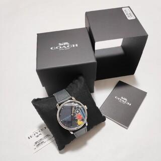 コーチ(COACH)の新品★コーチ×ディズニー★サーフミッキー 腕時計(腕時計(アナログ))