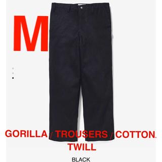 ダブルタップス(W)taps)のGORILLA / TROUSERS / COTTON. TWILL 黒 M(ワークパンツ/カーゴパンツ)