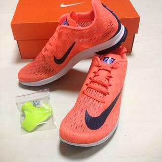 ナイキ(NIKE)の【Nike】Zoom Spike - Flat(Bright Mango)(陸上競技)