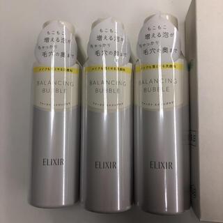 エリクシール(ELIXIR)のElixir エリクシール ルフレ バランシングバブル 165g *3セット(洗顔料)