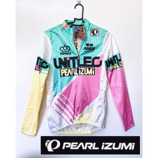 パール(pearl)の新品タグ付き♪PEARL IZUMI男女兼用サイクルウェア長袖パーカー(ウエア)